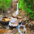 Beautiful cascade waterfall — Stock Photo #8620036
