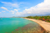 Maenam beach of Koh Samui — Stock Photo