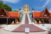 Wielki posąg buddy na koh samui — Zdjęcie stockowe
