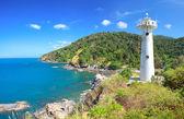 Lighthouse and National Park of Koh Lanta — Stock Photo