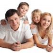 Family with two children — Stock Photo #8577788