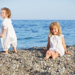 Royalty-Free Stock Photo: Children on beach