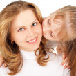 Stock Photo: Mother with daughter