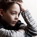 Sad boy — Stock Photo #9054173