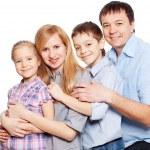 Happy family — Stock Photo #9541959