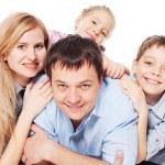 Happy family — Stock Photo #9918242