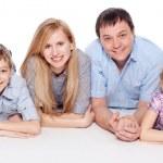 Happy family — Stock Photo #9918246