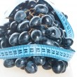 Grape Fruit with measurement — Stock Photo