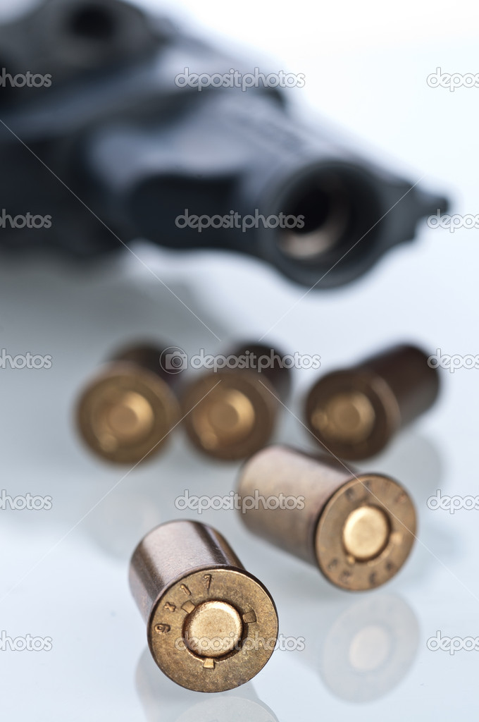 Set of bullets — Stock Photo #9574672