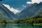 Kapruner lake in Kaprun — Stock Photo