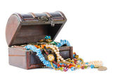 Chest of jewels — Stock Photo