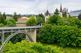 View of Bern, Switzerland — 图库照片