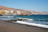 Beach at Candelaria. Tenerife — Stock Photo