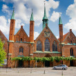 Holy Spirit Hospital. Lubeck. Germany — Stock Photo