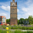 Kropeliner Tor. Rostock, Germany - Stock Photo