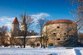 Cidade velha. tallinn, estónia — Foto Stock