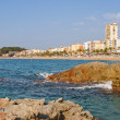 Lloret de mar. Spain - Stock Photo