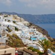 Santorini island. Greece - Stock Photo