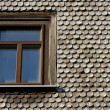 Old roof. Germany - Stock Photo