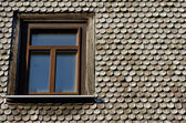 Old roof. Germany — Stock Photo