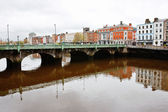 Liffey River. Dublin, Ireland — Stock Photo