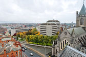 Cityscape of Dublin. Ireland — Stock Photo