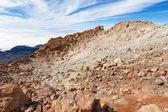 Cráter. parque nacional del teide, tenerife — Foto de Stock
