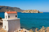 Spinalonga island. Crete, Greece — Stock Photo