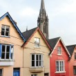 terraced houses. cobh, ireland — Stock Photo
