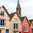 Terraced houses. Cobh, Ireland - Stock Photo