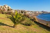 Costa adeje v tenerife. tenerife. kanárské ostrovy — Stock fotografie