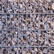 Stockfoto: Gabion from rubble