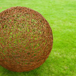 Ball of rusty wire — Stock Photo