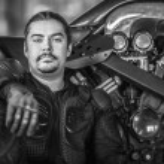 Courageous rider — Stock Photo #10176334