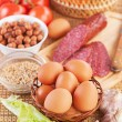 Ingredients for breakfast - Stock Photo
