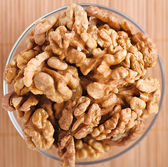 Peeled walnuts — Stock Photo