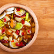 Thai Tom Yam soup - Stock Photo