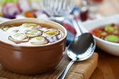 Onion soup — Stock Photo