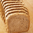 Cut rye bread — Stock Photo