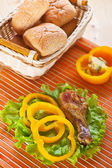 美味的午餐 — 图库照片