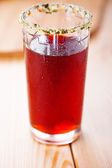 Glass of juice — Stockfoto