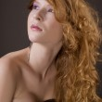 Elegant red hair woman portrait — Stock Photo