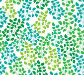 Seamless color pattern with leaf — Stock Vector