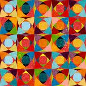 Naadloze patronen met kleurrijke textuur — Stockvector