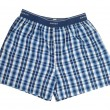 Blue Boxers — Stock Photo