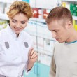 At the pharmacy — Stock Photo #10485360