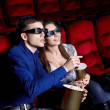 At the cinema - Stock Photo