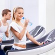 In the fitness club — Stock Photo #10633452