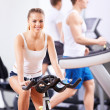 In the fitness club — Stock Photo #10633515