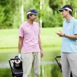 On the golf course — Stock Photo #8129765